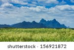 landscape of countryside and...   Shutterstock . vector #156921872