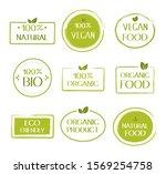 organic healthy vegan food... | Shutterstock .eps vector #1569254758