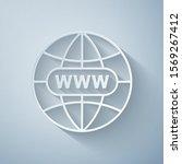paper cut go to web icon...