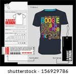 t shirt design   print design | Shutterstock .eps vector #156929786