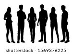 vector silhouettes of  men and... | Shutterstock .eps vector #1569376225