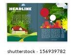 magazine layout. vector | Shutterstock .eps vector #156939782