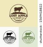 Lost Apple Farm Logo Template