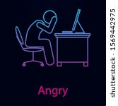 worker is angry nolan icon....