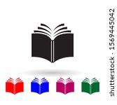 log book multi color icon....