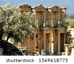 Remained Ancient Library In...