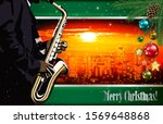 christmas red green... | Shutterstock . vector #1569648868