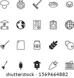 nature vector icon set such as  ... | Shutterstock .eps vector #1569664882
