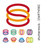 design vector logo template.  ... | Shutterstock .eps vector #156974582
