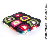 Blanket Or Crochet Blanket On A ...