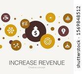 increase revenue trendy circle...