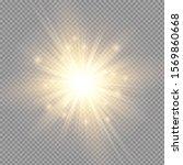 white glowing light burst... | Shutterstock .eps vector #1569860668