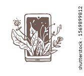 creative logo concept with...   Shutterstock .eps vector #1569899812