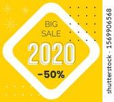 new year sale web banner vector ...   Shutterstock .eps vector #1569906568