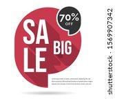 big sale web banner vector...   Shutterstock .eps vector #1569907342