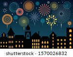vector illustration with... | Shutterstock .eps vector #1570026832