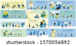vector illustration of concepts ... | Shutterstock .eps vector #1570056892