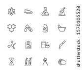 chemical science  chemistry... | Shutterstock .eps vector #1570105528