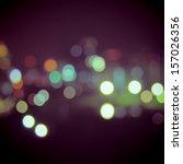 bokeh light vintage background | Shutterstock . vector #157026356