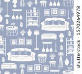 vector seamless pattern with... | Shutterstock .eps vector #1570264978