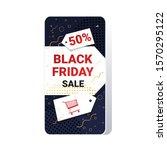 big sale black friday flyer...   Shutterstock .eps vector #1570295122