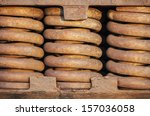 close up of rusted springs on... | Shutterstock . vector #157036058