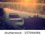 Vintage Photo Of Fishing Boat
