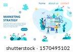 banner marketing strategy... | Shutterstock . vector #1570495102
