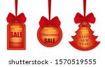 set colorful stickers  labels...   Shutterstock .eps vector #1570519555