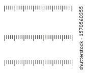 measuring scale  markup for... | Shutterstock .eps vector #1570560355