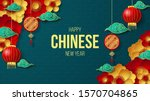 happy chinese new year...   Shutterstock .eps vector #1570704865