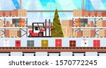 gift present boxes factory on... | Shutterstock .eps vector #1570772245