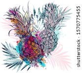 summer vector poster design...   Shutterstock .eps vector #1570775455