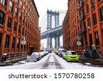 Manhattan Bridge During Winter...