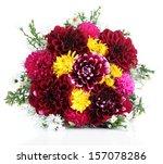 Bouquet Of Dahlia Flowers ...