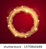 merry christmas realistic...   Shutterstock .eps vector #1570860688