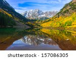 Maroon Bells And Its Reflectio...