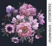 floral vintage decoration.... | Shutterstock . vector #1570878352