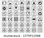 packaging icons  package signs...   Shutterstock .eps vector #1570912588