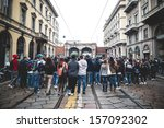milan  italy   october 4 ... | Shutterstock . vector #157092302