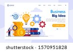 business big idea landing page...   Shutterstock .eps vector #1570951828