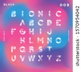 black font. sans serif.... | Shutterstock .eps vector #1570954042