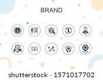 brand trendy infographic...