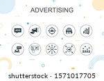 advertising trendy infographic...