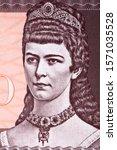 Empress Elisabeth of Austria a portrait from money