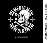Memento Mori. Design For Print ...