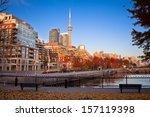Buildings In Toronto City...