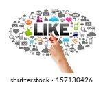 i like | Shutterstock . vector #157130426