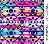 multicolor tribal vector...   Shutterstock .eps vector #1571329552