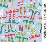 seamless pattern for christmas... | Shutterstock .eps vector #1571333785